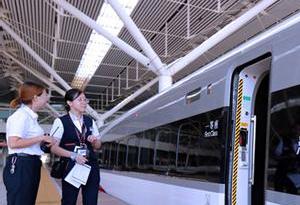 廣深港高鐵成為我國高鐵技術展示窗口