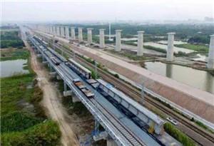 廈深鐵路汕頭聯絡線項目全線貫通 預計11月底建成