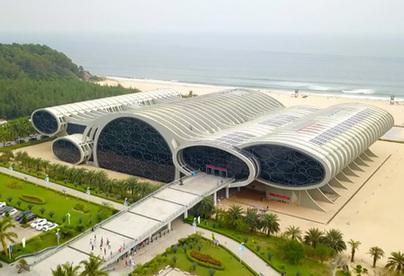 【新時代·幸福美麗新邊疆】無人機帶你探秘海上絲綢之路博物館