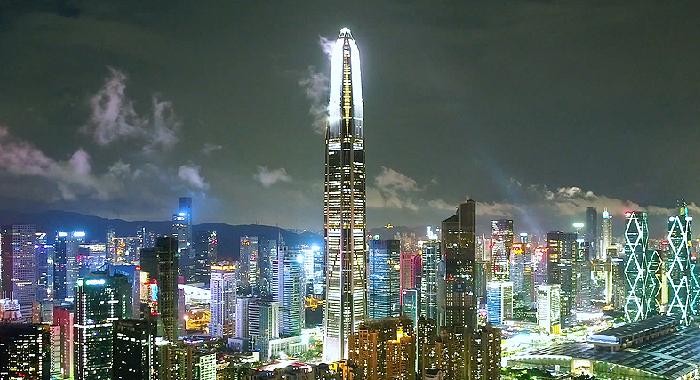 無人機帶你瞰改革開放的前沿陣地——深圳