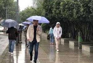 廣東:氣溫小幅下降 全省大部市縣有雨
