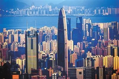 中國最年輕一線城市深圳的天際線變遷