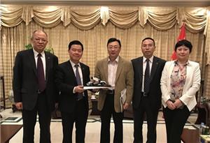 駐阿聯酋大使倪堅會見廣汽集團董事長曾慶洪