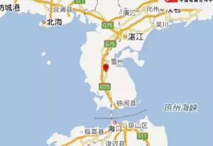 11月6日0時24分廣東湛江市雷州市發生3.1級地震