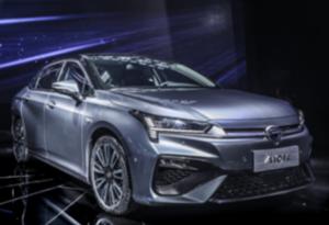 廣汽新能源旗下新車型Aion S亮相廣州國際車展