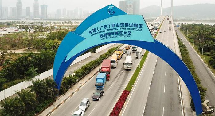 廣東自貿區以制度創新打造高水平對外開放新引擎