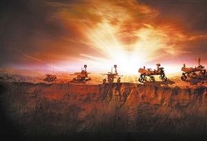 """科普 去火星上""""科考"""",在哪著陸很重要"""
