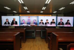 廣州互聯網法院首案開庭審理 逾70萬人次在線旁聽