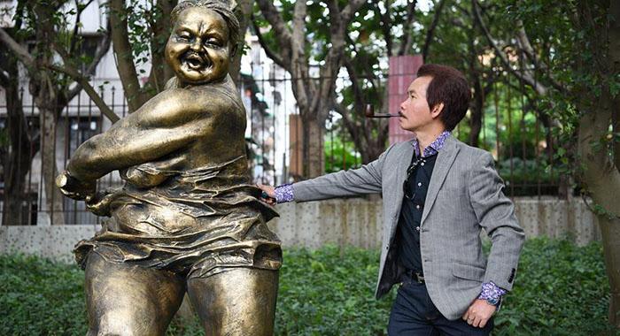 許鴻飛雕塑學院在廣州成立