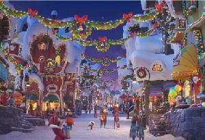 《綠毛怪格林奇》CG技術精致還原聖誕歐洲小鎮