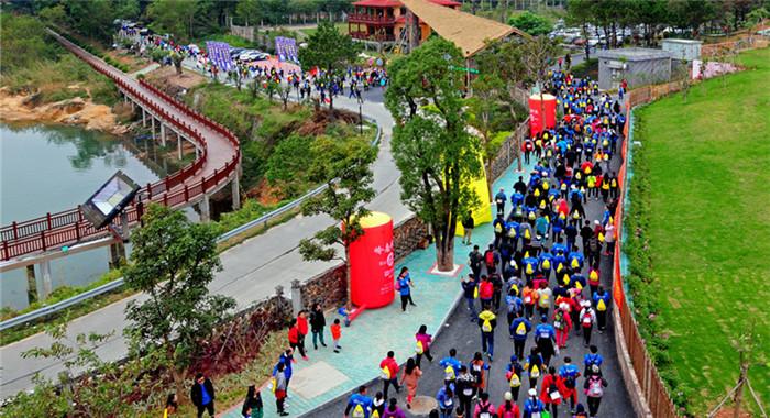 醉美花都行北回歸線上的足跡徒步嘉年華在廣州啟動
