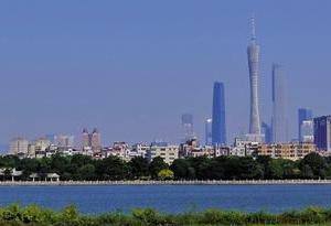 """藍天經濟正在發力 """"廣州藍""""出鏡率奇高幸福感爆表"""