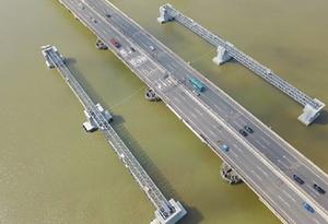 廣深高速東洲河大橋受損嚴重需換梁 春運期間部分車道通行封閉