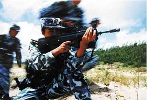 """""""兩棲霸王花""""是這樣煉成的——揭秘中國第一支女子""""海軍陸戰隊"""""""