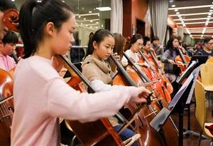 400余弦樂學子齊聚珠海接受中外音樂大師培訓