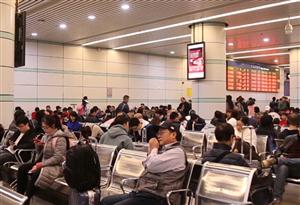 [直擊2019春運]廣州東站潮汕候車室搬到一樓,更便民了!