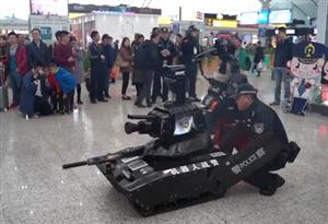 [直擊2019春運]duang~深圳北站機器人戰警上線!