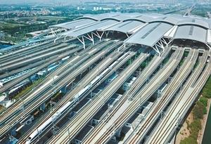每天迎送50萬人 南站速度快在哪