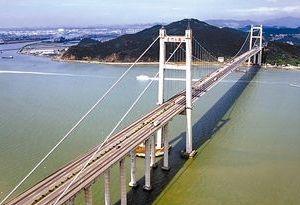 南沙大橋完成荷載試驗