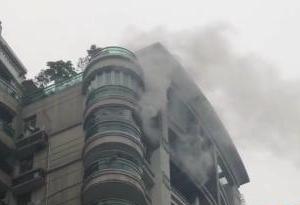 廣州珠江帝景高層發生火災,室內消火栓竟然沒水……