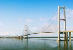 中國進出口銀行廣東省分行支持的南沙大橋正式通車