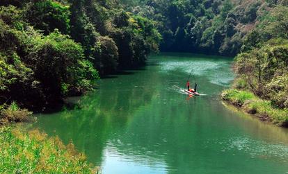 廣東仙門奇峽首屆竹筏漂遊節將舉行