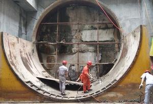 廣州地鐵八號線北延段土建工程累計完成80% 14個區間雙線貫通