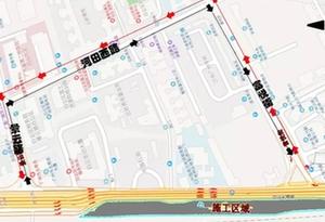 廣州地鐵十二號線景雲路站18日起實施圍蔽施工