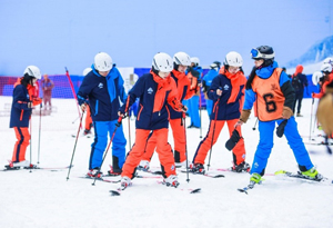 5月的廣州也能滑雪? 華南最大室內滑雪場亮相