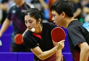 全國新區經開區高新區首屆職工健康運動會乒乓球賽在湛江舉行