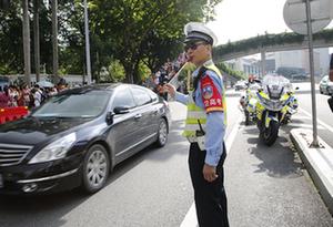 【2019高考】廣東警方保駕護航