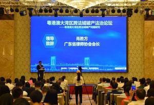 粵港澳法學專家聚惠州共議大灣區跨法域破産問題
