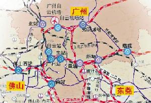 廣州高鐵站將擴容至11座