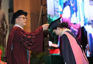 中山大學管理學院2019屆研究生畢業典禮暨學位授予儀式舉行