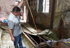 廣州一無證照電鍍廠污水直排、六價鉻超標5000倍 6人被刑拘