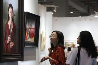 第24屆春季廣州藝博會閉幕 立足灣區發揚藝術教育價值