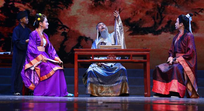 《風雅浴日亭》試演 再現廣州黃埔南海神廟千年詩會盛景