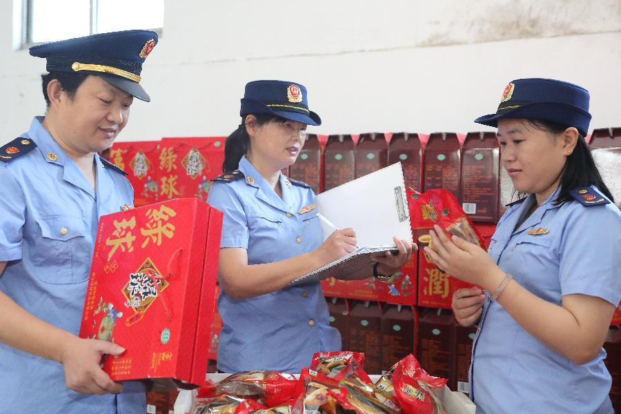 深圳市人大代表開展食品安全執法檢查