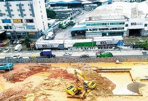 廣州白雲區一工地發生塌方 一名工人不幸遇難
