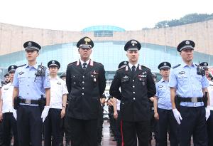 意大利警員首次受邀在廣州開展警務聯合巡邏