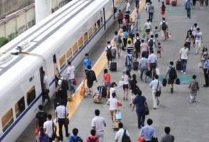 廣鐵暑運預計發送旅客10500萬人 增開動車組旅客列車43.5對