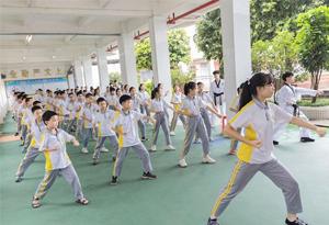 全國青少年體育冬夏令營廣東站在梅州市開營