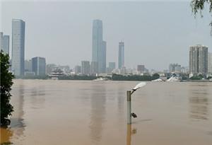 封開江口站將現洪峰水位 肇慶茂名已啟動防汛Ⅳ應急響應