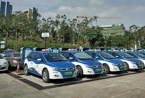 廣州今年計劃投放3751個純電動出租車運力指標