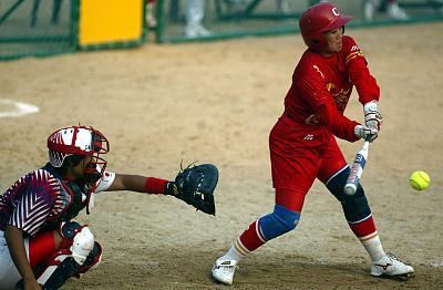 逾千名青少年運動員在廣東中山參加全國性壘球賽