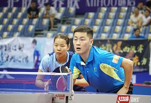全國乒乓球錦標賽:林高遠/王曼昱混雙奪冠