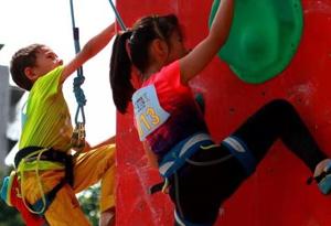 2019全國攀岩希望之星華南區域交流賽在廣州舉辦