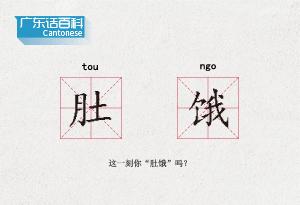 """廣東話百科:肚餓(這一刻你""""肚餓""""嗎?)"""