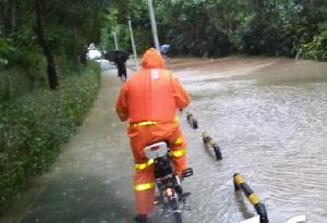 """""""韋帕""""致深圳水位漲幅最大超4.5米 平均降雨112毫米"""