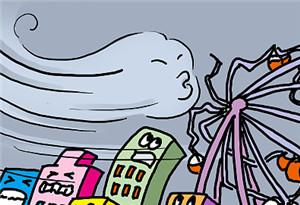 """臺風""""韋帕""""將登陸瓊粵沿海 中國氣象局啟動四級應急響應"""